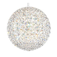 Schonbek Da Vinci 16 Light Pendant in Stainless Steel and Clear Spectra Crystal Trim DV1515A