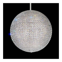 Schonbek DV3636A Da Vinci 72 Light 36 inch Stainless Steel Pendant Ceiling Light in Clear Spectra, Geometrix,Canopy Sold Separately