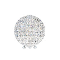 Schonbek Da Vinci 6 Light Table Lamp in Stainless Steel and Crystal Swarovski Elements Trim DVT1012S