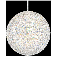 Schonbek DV1212S Da Vinci 12 Light 12 inch Stainless Steel Pendant Ceiling Light in Clear Swarovski, Geometrix,Canopy Sold Separately