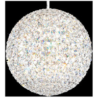 Schonbek DV1515A Da Vinci 16 Light 15 inch Stainless Steel Pendant Ceiling Light in Spectra Geometrix