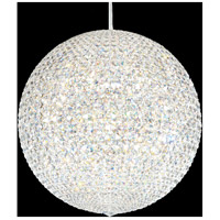 Schonbek DV2424S Da Vinci 30 Light 24 inch Stainless Steel Pendant Ceiling Light in Clear Swarovski, Geometrix,Canopy Sold Separately