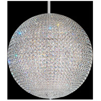 Schonbek DV3636S Da Vinci 72 Light 36 inch Stainless Steel Pendant Ceiling Light in Clear Swarovski GeometrixCanopy Sold Separately