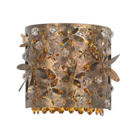 Schonbek Shadow Dance Wall Sconce in Mocha Bronze and Amber Swarovski Elements Colors Trim SH0508N-78AMB photo thumbnail
