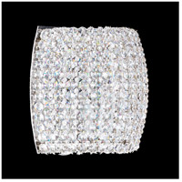 Dionyx 1 Light 5 inch Stainless Steel Wall Sconce Wall Light in Clear Swarovski, Geometrix