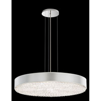 Schonbek Eclyptix Pendant in Stainless Steel and Spectra Crystal with Black Shade EC0328N-401A2