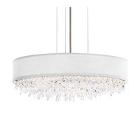 Schonbek Eclyptix Pendant in Stainless Steel and Spectra Crystal with Silver Shade EC1319N-401A1