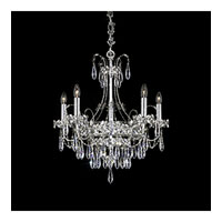 Schonbek Ekaterina 5 Light Chandelier in Stainless Steel and Crystal Swarovski Elements Trim EK6505N-401S