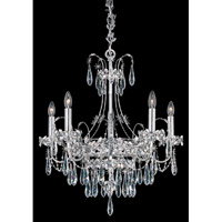 Ekaterina 5 Light 22 inch Stainless Steel Chandelier Ceiling Light