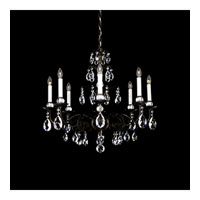 Schonbek Emperio 8 Light Chandelier in Heirloom Bronze and Clear Heritage Handcut Trim EM1208N-76H