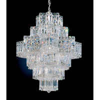 Schonbek 2724-40 Equinoxe 21 Light 23 inch Silver Chandelier Ceiling Light in Polished Silver photo thumbnail