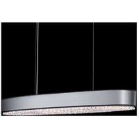 Eclyptix 12 Light 15 inch Stainless Steel Pendant Ceiling Light in Clear Spectra, Black
