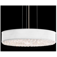 Schonbek EC0319N-401A3 Eclyptix 6 Light 20 inch Stainless Steel Pendant Ceiling Light in White, Clear Spectra