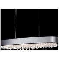 Schonbek EC1248N-401A2 Eclyptix 12 Light 15 inch Stainless Steel Pendant Ceiling Light in Black Clear Spectra
