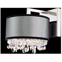 Schonbek Eclyptix 2 Light Wall Sconce in Stainless Steel and Heritage Crystal EC1316N-401H2