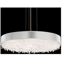Eclyptix 12 Light 29 inch Stainless Steel Pendant Ceiling Light in Clear Spectra