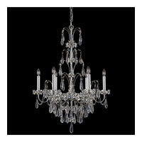Schonbek Ekaterina 6 Light Chandelier in Stainless Steel and Crystal Swarovski Elements Trim EK6506N-401S