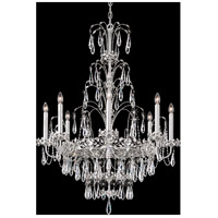 Ekaterina 8 Light 29 inch Stainless Steel Chandelier Ceiling Light