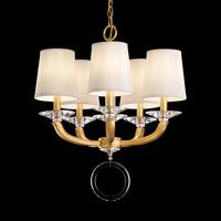 Schonbek MA1005N-22O Emilea 5 Light 20 inch Heirloom Gold Chandelier Ceiling Light