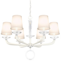 Schonbek MA1006N-06O Emilea 6 Light 31 inch White Chandelier Ceiling Light