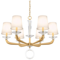 Schonbek MA1006N-22O Emilea 6 Light 31 inch Heirloom Gold Chandelier Ceiling Light