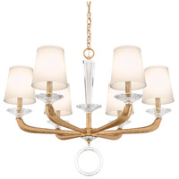 Schonbek MA1006N-26O Emilea 6 Light 31 inch French Gold Chandelier Ceiling Light
