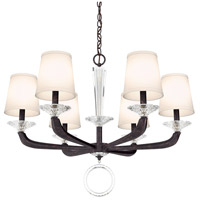 Schonbek MA1006N-76O Emilea 6 Light 31 inch Heirloom Bronze Chandelier Ceiling Light