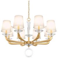 Schonbek MA1008N-22O Emilea 8 Light 33 inch Heirloom Gold Chandelier Ceiling Light
