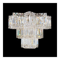 Schonbek Equinoxe 6 Light Wall Sconce in Silver and Clear Gemcut Trim 2703-40