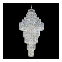 Schonbek Equinoxe 63 Light Chandelier in Silver and Clear Gemcut Trim 2727-40