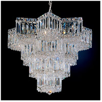 Schonbek 2714-40 Equinoxe 15 Light 23 inch Silver Chandelier Ceiling Light in Polished Silver