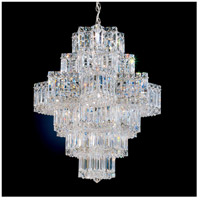 Schonbek 2724-40 Equinoxe 21 Light 23 inch Silver Chandelier Ceiling Light in Polished Silver