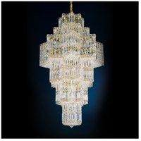 Schonbek 2725-40 Equinoxe 35 Light 23 inch Silver Chandelier Ceiling Light in Polished Silver