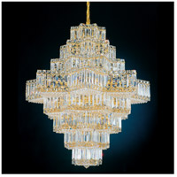 Schonbek 2726-40 Equinoxe 45 Light 30 inch Silver Chandelier Ceiling Light in Polished Silver