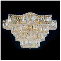 Schonbek 2734-40 Equinoxe 29 Light 30 inch Silver Flush Mount Ceiling Light in Polished Silver