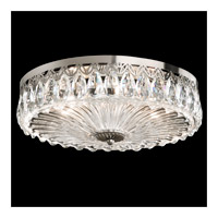 Schonbek Fontana Luce 3 Light Flush Mount in Black Pearl and Heritage Crystal FL7068N-49H
