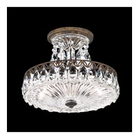 Schonbek Fontana Luce 2 Light Semi Flush Mount in Heirloom Bronze and Heritage Crystal FL7787N-76H
