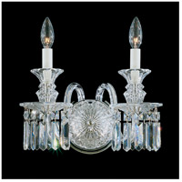 Fairfax 2 Light 13 inch Polished Silver Wall Sconce Wall Light