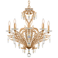 Schonbek FE7008N-26H Filigrae 8 Light 26 inch French Gold Chandelier Ceiling Light in Clear Heritage