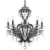 Schonbek FE7008N-76H Filigrae 8 Light 26 inch Heirloom Bronze Chandelier Ceiling Light in Clear Heritage