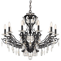 Schonbek FE7010N-76H Filigrae 10 Light 33 inch Heirloom Bronze Chandelier Ceiling Light in Clear Heritage