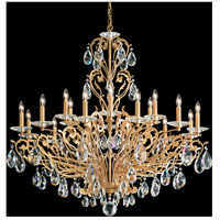 Filigrae 18 Light 39 inch French Gold Chandelier Ceiling Light in Clear Spectra