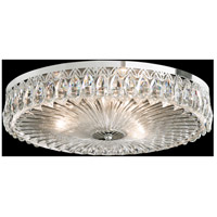 Fontana Luce 3 Light 18 inch Aurelia Flush Mount Ceiling Light