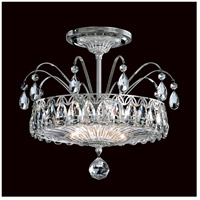 Schonbek FL7767N-40H Fontana Luce 2 Light 12 inch Silver Semi Flush Mount Ceiling Light in Polished Silver