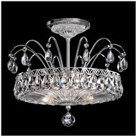 Schonbek FL7768N-40H Fontana Luce 3 Light 14 inch Silver Semi Flush Mount Ceiling Light in Polished Silver