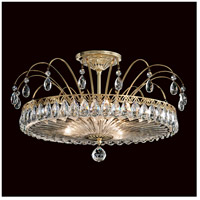 Fontana Luce 3 Light 19 inch Aurelia Semi Flush Mount Ceiling Light