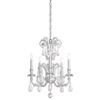 Schonbek Genzano 5 Light Chandelier in Crystal Rock GE4705N-40CR