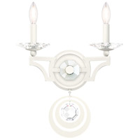 Schonbek WB1002N-06H Gwynn 2 Light 13 inch White Wall Sconce Wall Light in Heritage