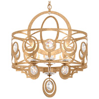 Schonbek WB1006N-26H Gwynn 6 Light 24 inch French Gold Chandelier Ceiling Light in Clear Heritage