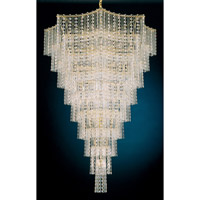 Schonbek Jubilee 33 Light Chandelier in Gold and Clear Gemcut Trim 2657-20
